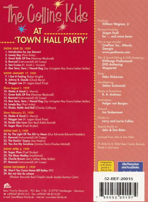 At Town Hall Party, Vol. 3
