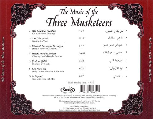 Music of the Three Musketeers