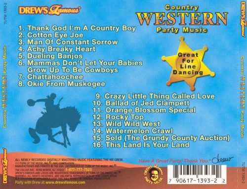 Drew's Famous Country Western Party Music [2002]