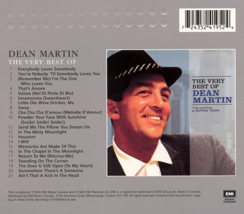 The Very Best of Dean Martin: The Capitol & Reprise Years [2000]