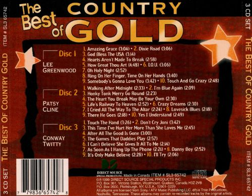 Country Gold [Direct Source 2000]