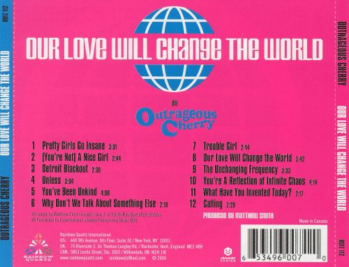 Our Love Will Change the World