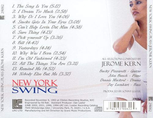 Plays the Music of Jerome Kern