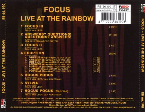 Focus at the Rainbow