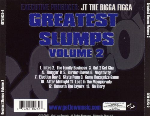 Greatest Slumps, Vol. 2