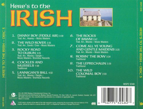 Here's to the Irish [2003 Version Disc 3]