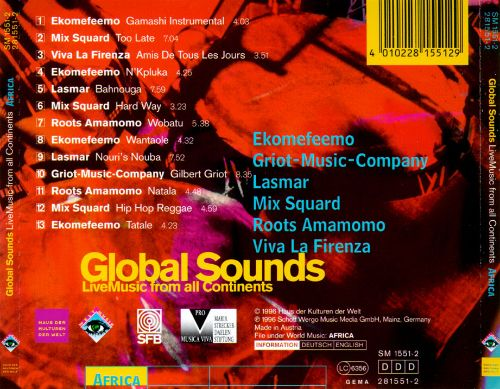 Global Sounds (Live Music From All Continents): Africa