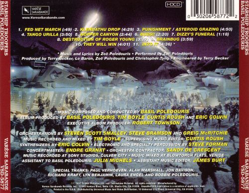 Starship Troopers [Original Motion Picture Soundtrack]