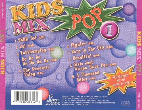 Kids Mix Pop 1