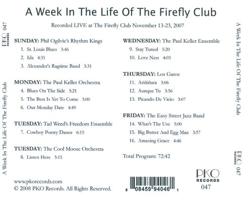 A Week in the Life of the Firefly Club