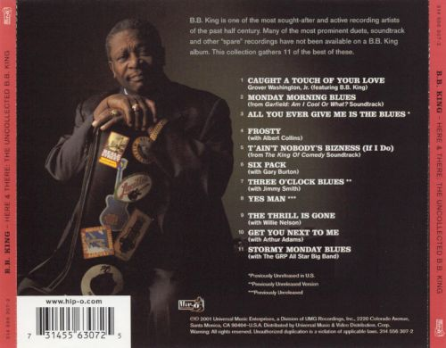 Here and There: The Uncollected B.B. King
