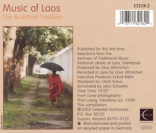 Music of Laos: The Buddhist Tradition