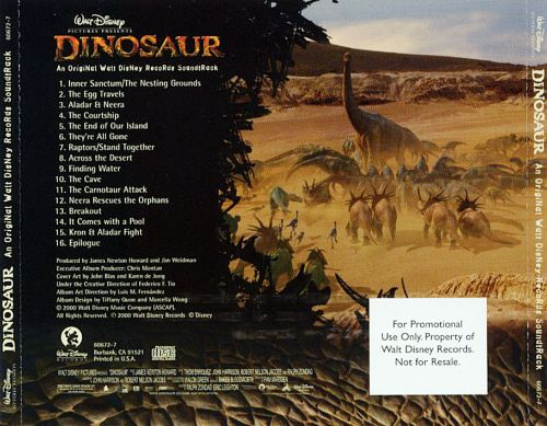 dinosaur original soundtrack dinosaur original soundtrack - Dinosaure Disney