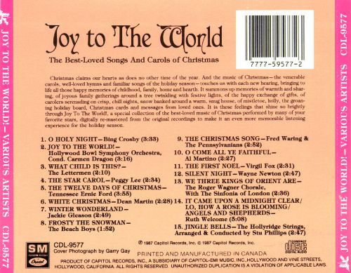 Joy to the World [Capitol]
