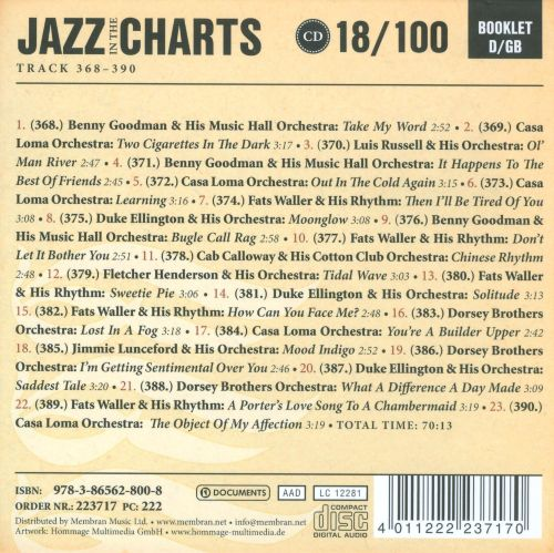 Jazz in the Charts, Vol. 18: Pardon My Southern Accent 1934