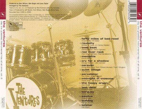 The Ventures All Time Greatest Hits Cd Album - Imagez co