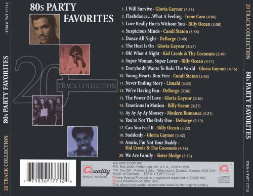 80's Party Favorites
