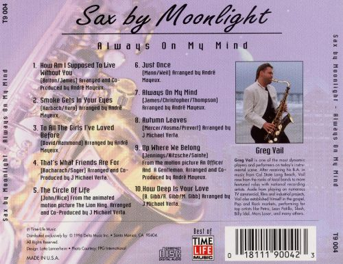 Sax by Moonlight: Always on My Mind