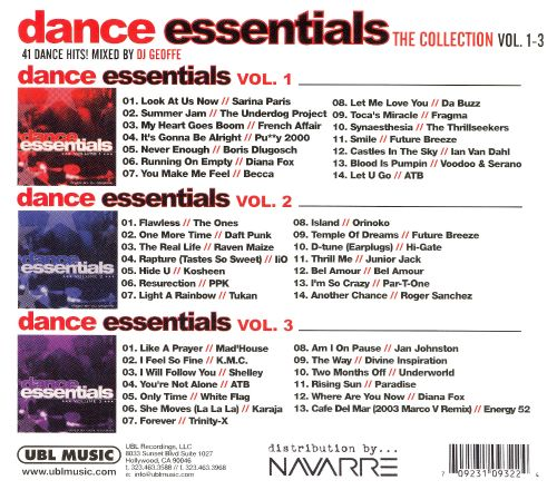 Dance Essentials: The Collection, Vol. 1-3