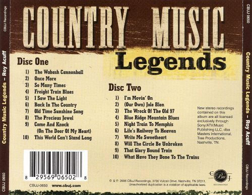 Country Music Legends [RCR]