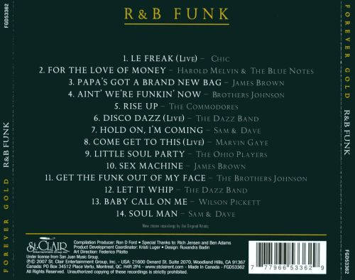 Forever Gold: R&B Funk