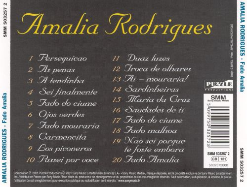 Fado Amalia [Sony International]