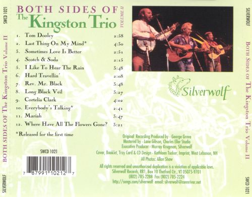 Both Sides of the Kingston Trio, Vol. 2