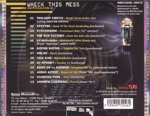 Wreck This Mess: Remission, Vol. 2