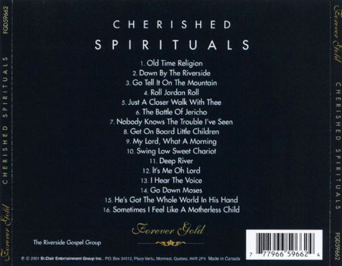 Forever Gold: Cherished Spirituals