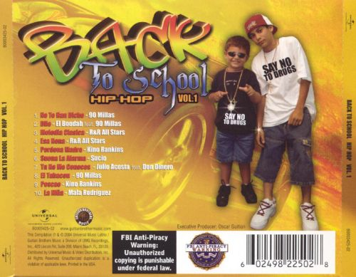 Back to School Hip-Hop, Vol. 1