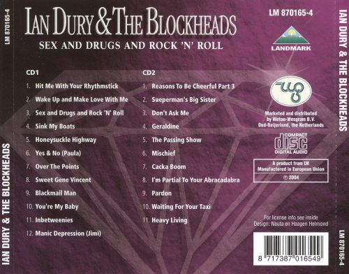 Sex and Drugs and Rock 'n' Roll: Greatest Hits