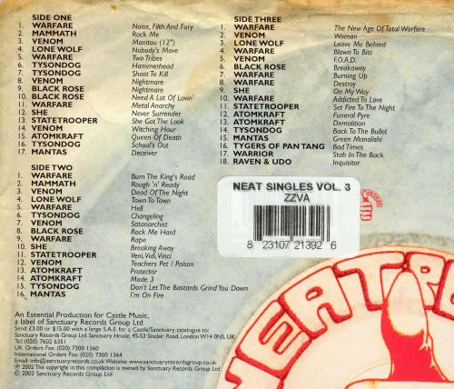 The Neat Singles Collection, Vol. 3