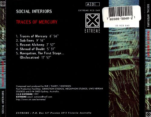 Traces of Mercury