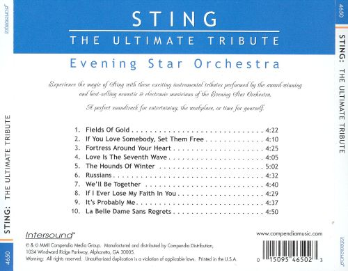 Sting: The Ultimate Tribute
