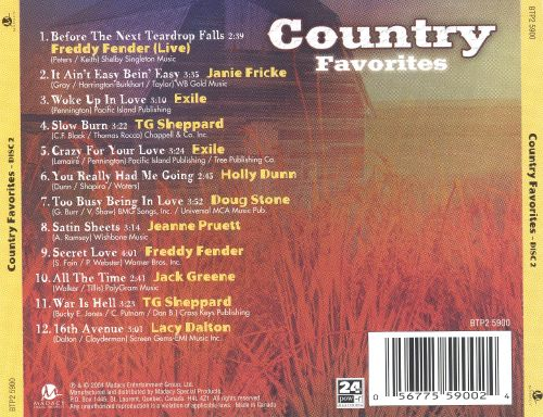 Country Favorites-Disc 2