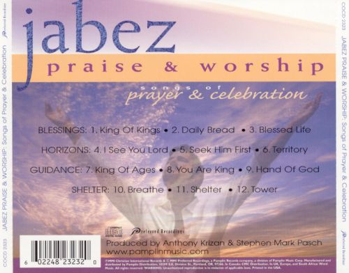 Songs of Prayer and Celebration