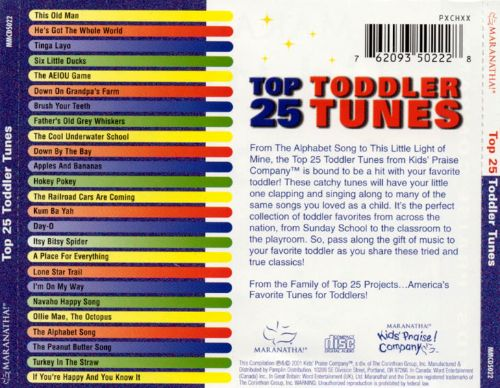 Top 25 Toddler Tunes