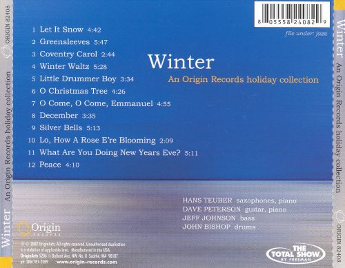 Winter: An Origin Records Holiday Collection