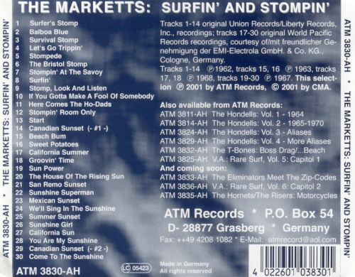 Surfin' and Stompin'