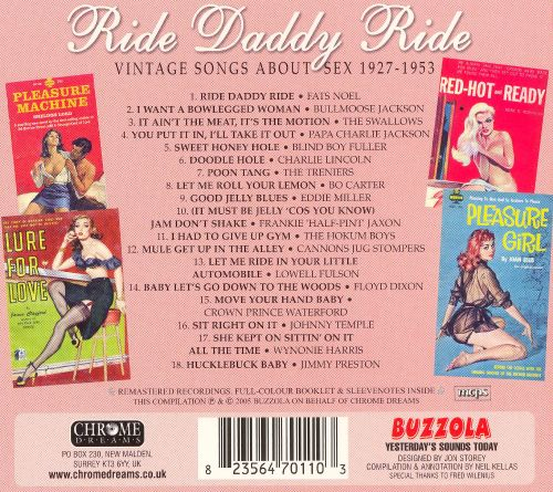 Ride Daddy Ride: Vintage Songs About Sex 1927-1953