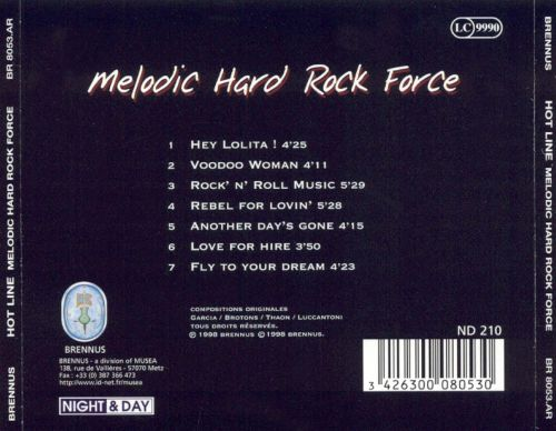 Melodic Hard: Rock Force