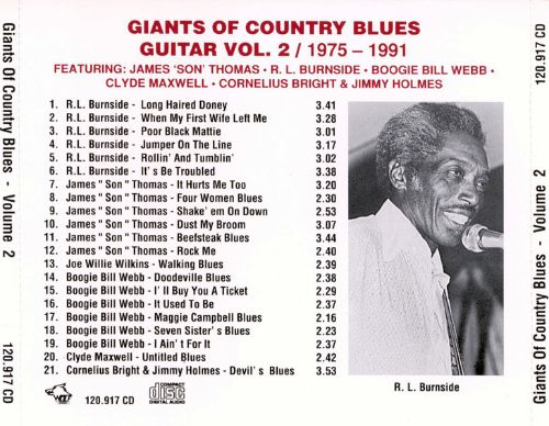 Giants of Country Blues Guitar, Vol. 2