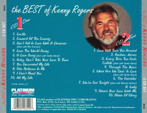 The Best of Kenny Rogers [Platinum 2003]