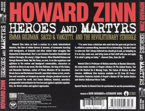 Heroes and Martyrs: Emma Goldman, Sacco & Venzetti, And the Revolutionary Struggle