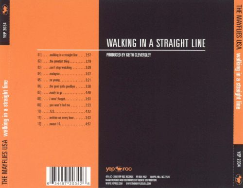 Walking in a Straight Line