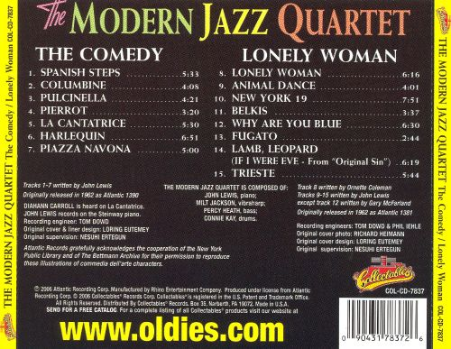 The Comedy/Lonely Woman
