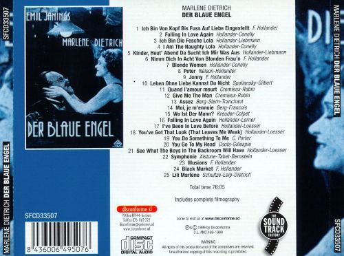 Der Blau Engel (The Blue Angel)