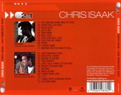 Chris Isaak/San Francisco Days