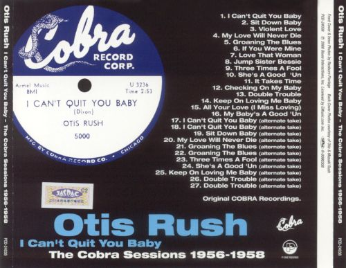 I Can't Quit You Baby: The Complete Cobra Sessions