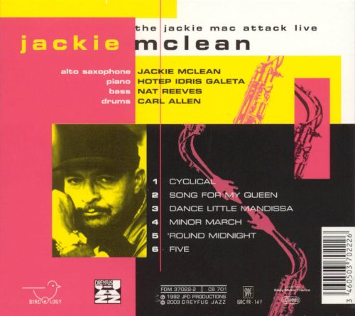 The Jackie Mac Attack Live
